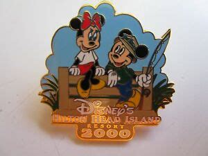 pin  disneys hilton head island resort  mickey minnie htf disney ebay
