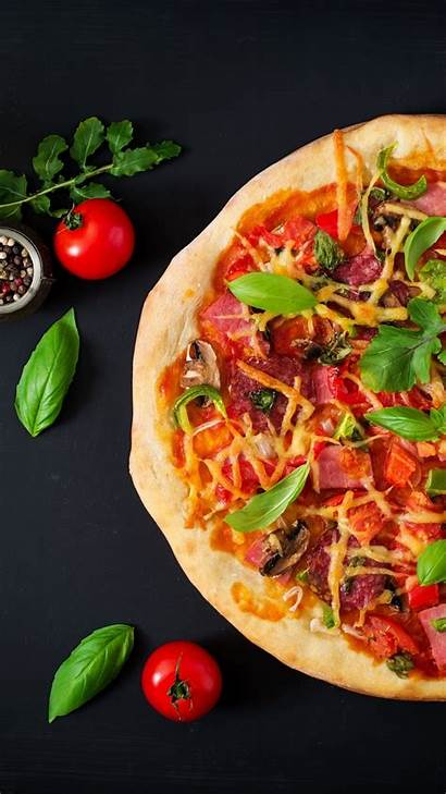 Pizza Fast Vegetables Wallpapers Iphone Wallpapermaiden