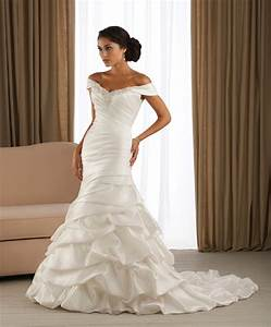 mermaid wedding dresses with off the shoulder With off the shoulder wedding dress with sleeves