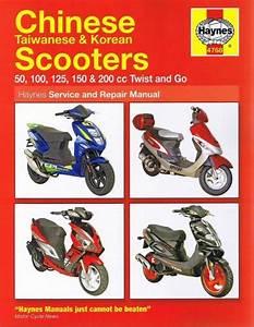 Haynes Chinese Scooter Manual 50cc 100cc 125cc 150cc 200cc