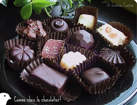 chocolats fourres jasmine cuisine