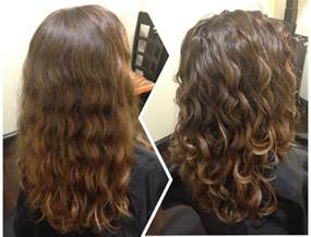Natural Hair Deva Cut Before and After