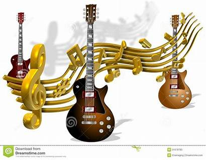 Note Notes Musica Guitars Electric Gitaren Chitarre
