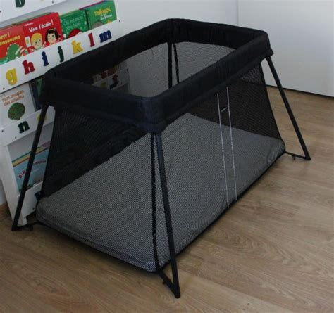 chaise nomade baby to le nouveau lit nomade babybjörn la mite orange