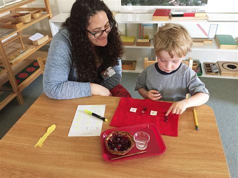 Montessori preschool math work - The Children's Tree ...