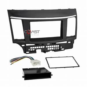 Single Double Din Car Stereo Dash Kit Harness For 2007