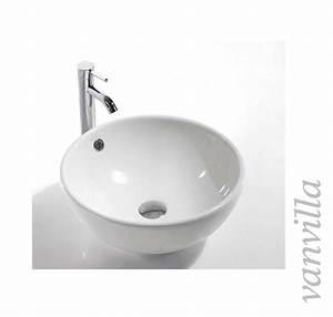 Keramik Waschbecken Küche : waschbecken keramik aufsatzbecken rund aufsatzwaschbecken waschtisch ebay ~ Indierocktalk.com Haus und Dekorationen