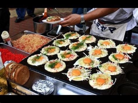 Japanese Street Food  Street Food In Japan  Tokyo Street
