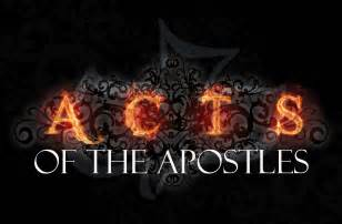 The Holy Bible the Acts of Apostles