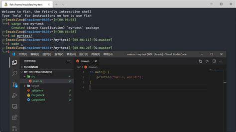installation configuration rust debugging code guide vs