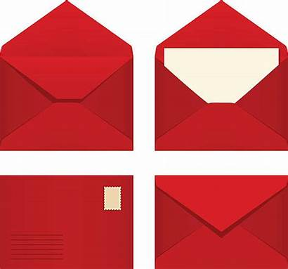 Envelope Envelopes Vector Open Clipart Illustrations Clip