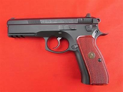 Cz Pistol Sp 9mm Tactical Cz75 Military