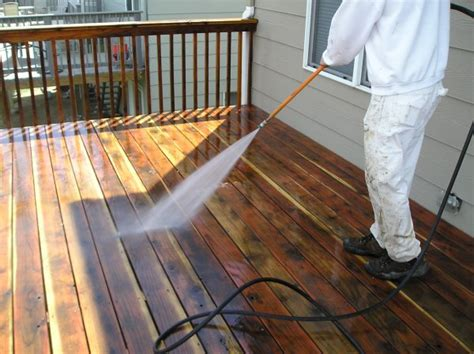 proper deck power washing technique  house painting guide