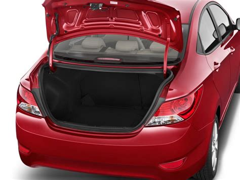 Hyundai Accent Trunk Space by 187 2013 Hyundai Accent Sedan Trunk Best Cars News