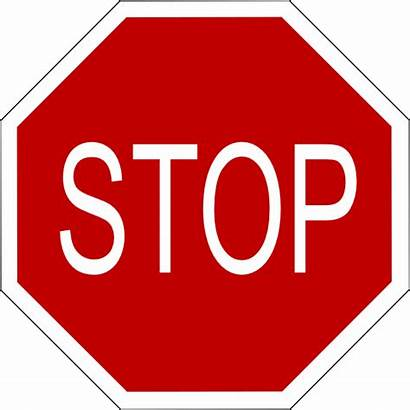 Stop Sign Clip Clipart Vector Svg Clker