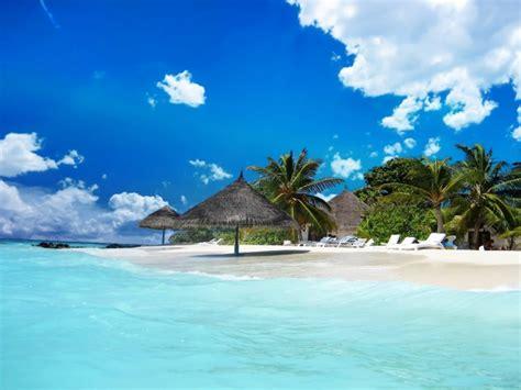 bahamas caribbean ocean blue water tropical beach sand