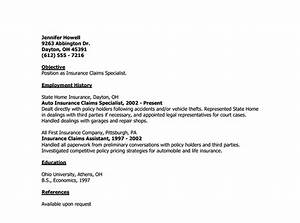 Cover letter template for insurance adjuster template of for Cover letter for claims adjuster position