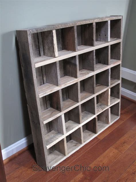 pallet wood cubby organizer shelves wood cubby wood