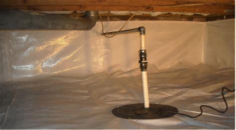crawl space drainage in indiana indiana crawlspace repair