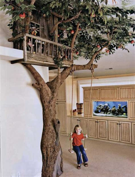 examples indoor swings turn home playground ages