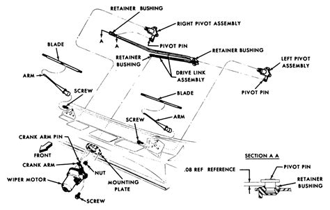 Ford Wiper Linkage Diagram by How Do I Replace The Plastic Connector On Wiper Arms On A