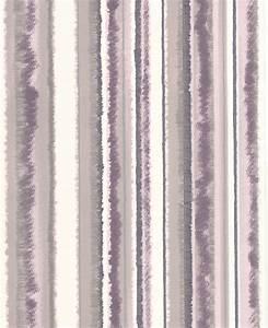 Superfresco Romany Stripe Lavender Wallpaper Sample