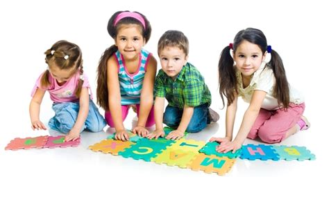 preschool enrichment for fall 2 session ymca of 386 | Preschool Kids on Floor