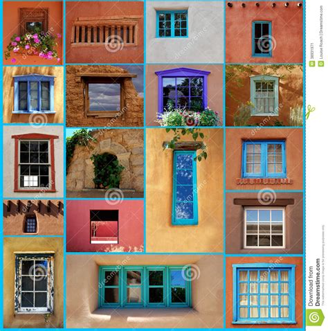 santa fe windows stock image image  sill historical
