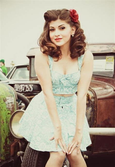 50s Prom Hairstyles by 40 Rockabilly Hairstyles For And Hum Ideas