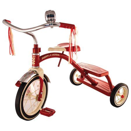 radio flyer classic red dual deck tricycle walmart