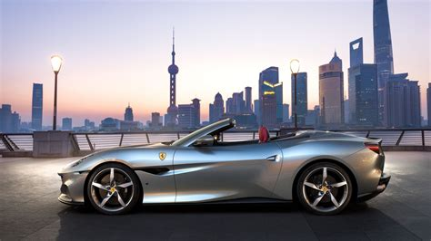"""That is because ferrari never stops innovating. 2021 Ferrari Portofino M Brings More Power And Tech To """"Entry-Level"""" Convertible 