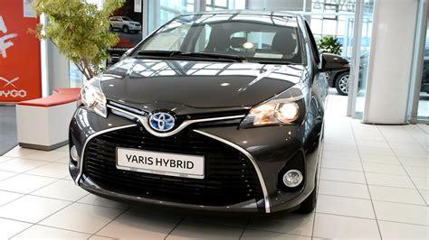 toyota yaris hybrid exterior  interior youtube