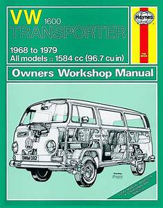 Haynes Workshop Manual Vw Type 2 1600cc Van