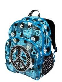 Blue Justice Backpacks for Girls