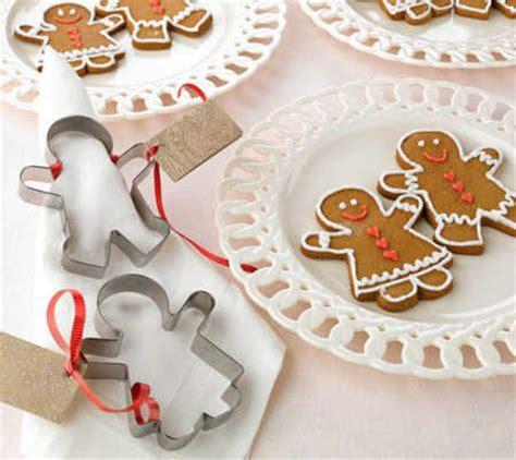 metal gingerbread girl cookie cutter kitchen  bath