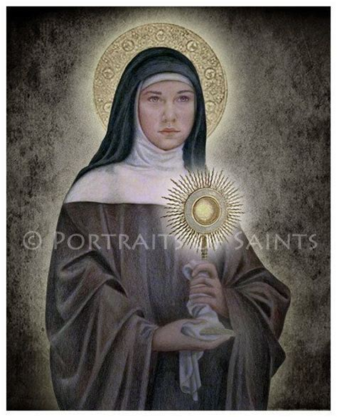 st clare of assisi 8x10 print free shipping