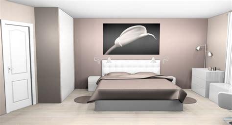 deco mur chambre ado déco chambre taupe et blanc