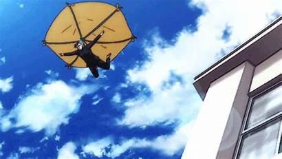 Sakamoto Haven Heard Desu Ga Anime Fire