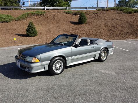 Picture Of 1988 Ford Mustang Gt Convertible Exterior