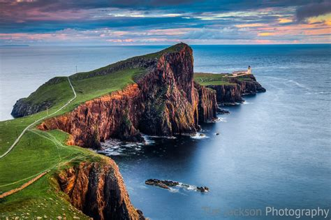 Neist Point Sunset By Tim Jackson Tim Jackson