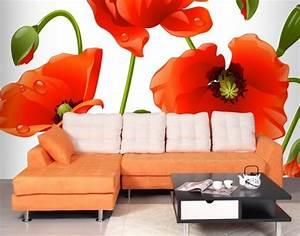3d tapete fur eine tolle wohnung archzinenet With balkon teppich mit tapete rot blumen