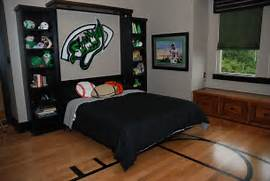 Sports Themed Bedroom Accessories They Can Be Twin Full Or Queen And The Facade Can Resemble An Armoire