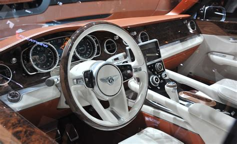 bentley steering wheel bentley exp 9f why but hey if you have the why not