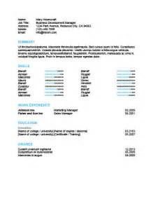 skill highlights for resume 279 free resume templates in microsoft word