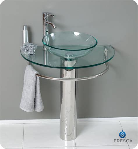 Glass Bathroom Vanity by Fresca Fvn1060 Attrazione 30 Quot Modern Glass Bathroom Vanity