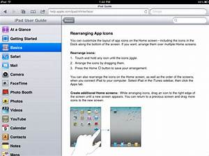 How To Use The Ipad Online User Guide