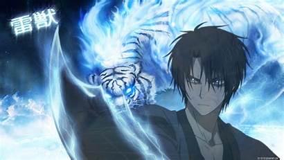 Yona Akatsuki Anime Background Hak Lightning Beast