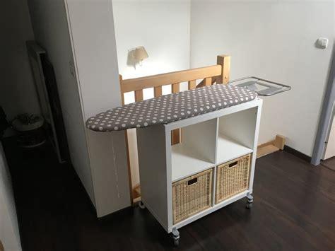 meuble table a repasser un meuble table 224 repasser sur roulettes bidouilles ikea