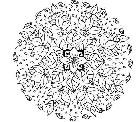 mandala coloring pages free mandala coloring pages 360coloringpages