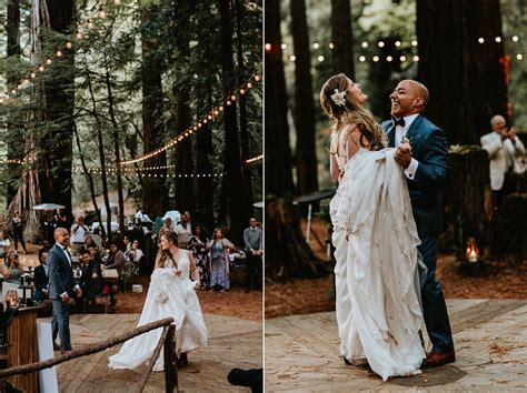 magical island farm wedding in the redwoods san gregorio ca